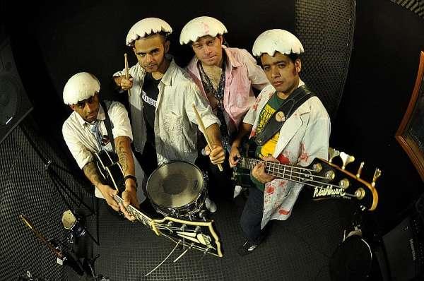 A banda Ovos Presley é uma das atrações do festival de Curitiba.