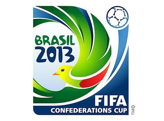 Logo da Copa das Confederações traz um sabiá-laranjeira.