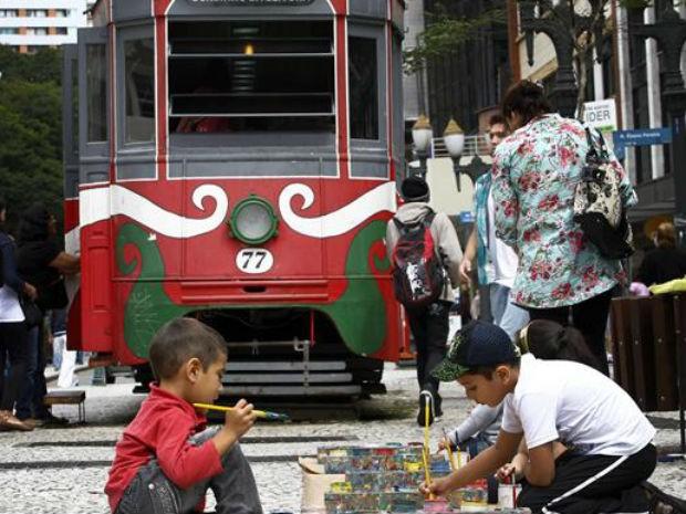 O Paço Municipal é um dos pontos da Linha do natal. (Foto: SMCS)