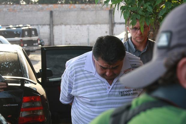 O apresentador estava preso por tráfico de drogas. (Foto: Diario dos Campos)