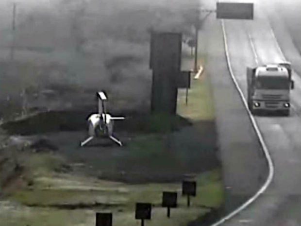 Agente da Viapar auxiliou piloto na localização do Aeroporto de Maringá  (Foto: Viapar)