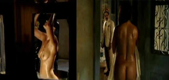 """Nas cenas são utilizados tapa-sexos, segundo o ator de """"Gabriela"""". (TV Globo)"""
