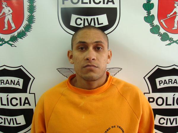 """""""Lacraia"""" é apontado pela Polícia Civil como um perigoso homicida. (Foto: SESP)"""