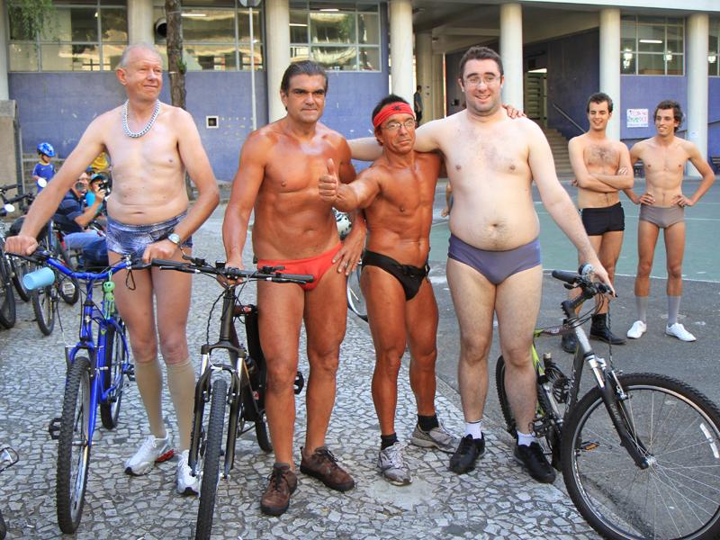 O Oil Man foi alvo recente de homenagem na UFPr. (Foto: bicicleteiros.com)